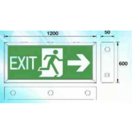 Eunnel Box-up EXIT Emergency light